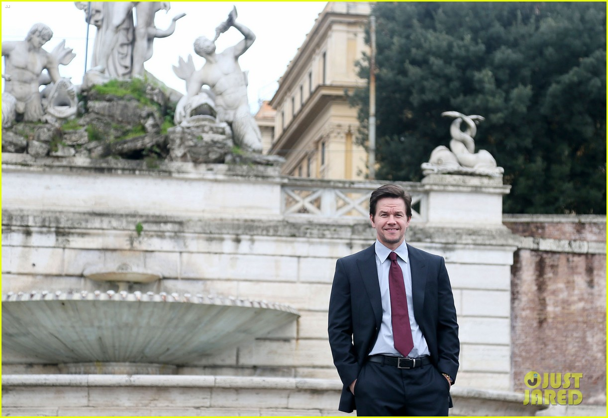 mark wahlberg broken city rome photo call radio visit 182806785