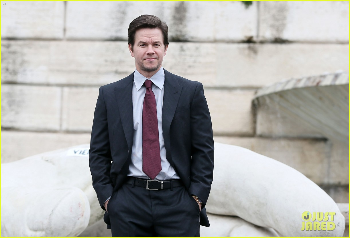 mark wahlberg broken city rome photo call radio visit 23