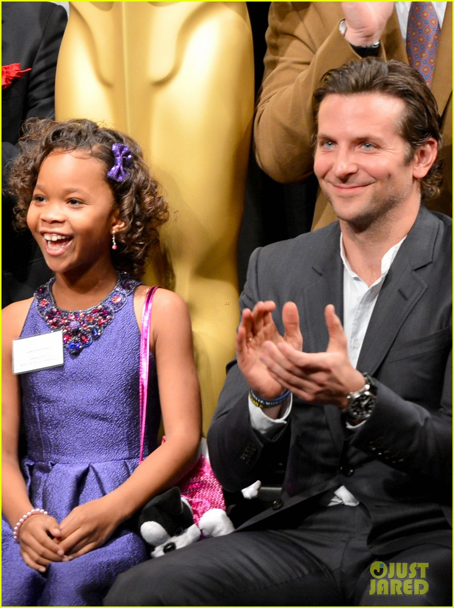 quvenzhane wallis oscar nominees luncheon 2013 02