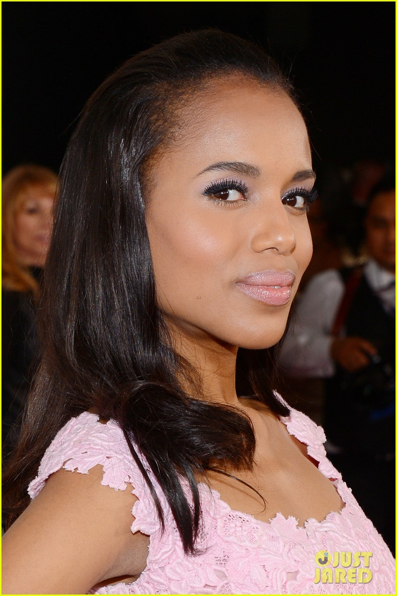 kerry washington naacp image awards 2013 red carpet 122802741