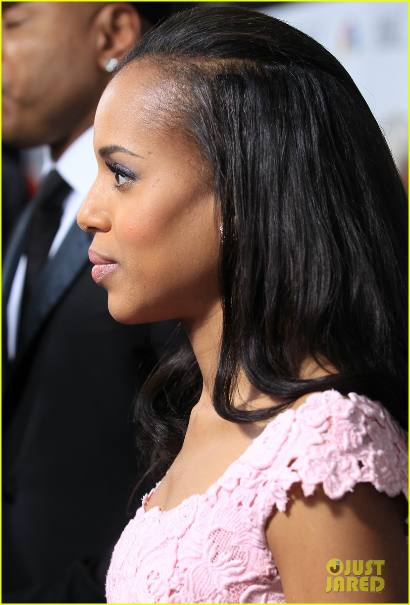 kerry washington naacp image awards 2013 red carpet 222802751