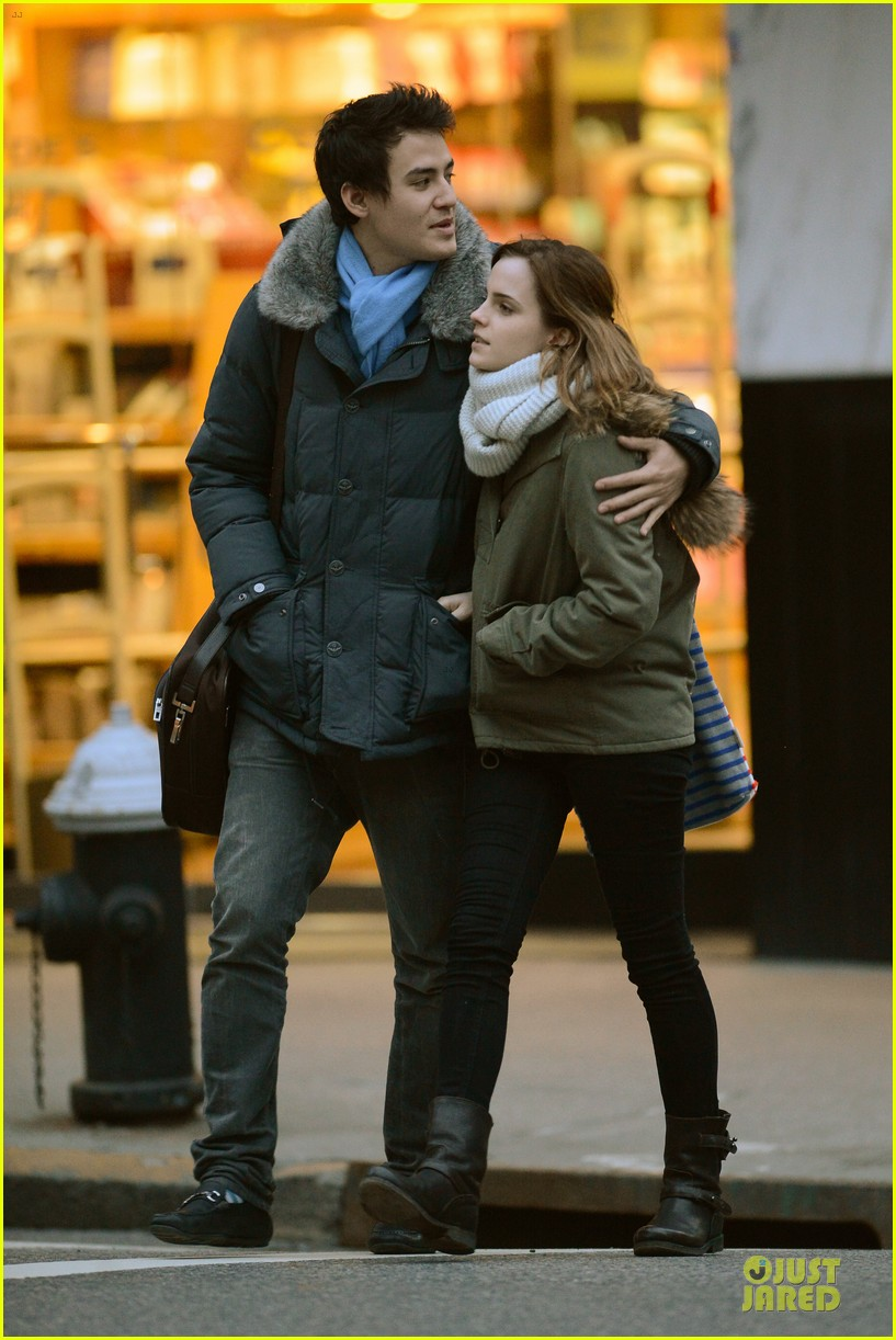 emma watson will adamowicz romantic stroll after valentines day 032813607