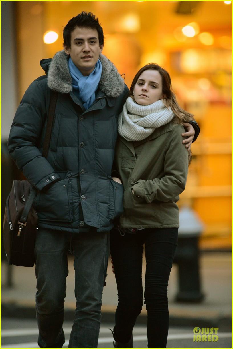 emma watson will adamowicz romantic stroll after valentines day 042813608