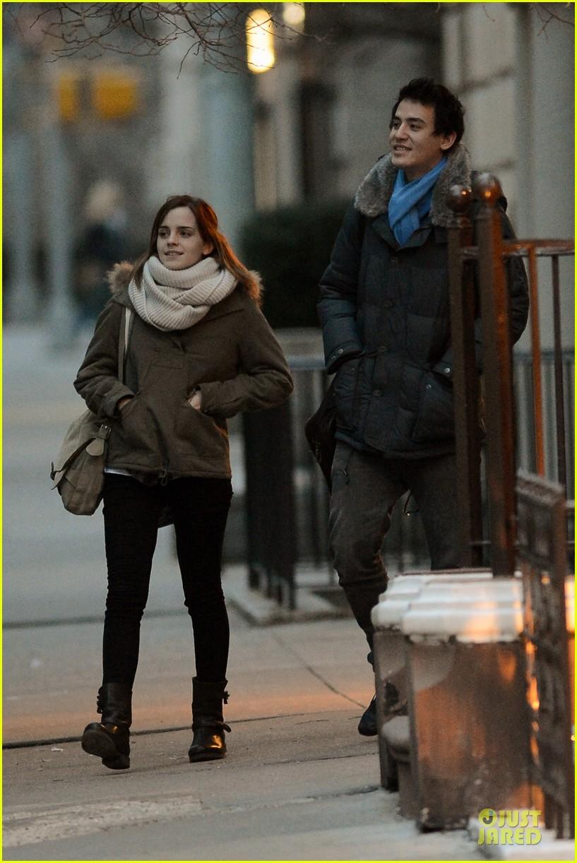 emma watson will adamowicz romantic stroll after valentines day 052813609