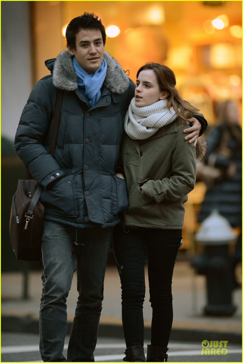 emma watson will adamowicz romantic stroll after valentines day 092813613