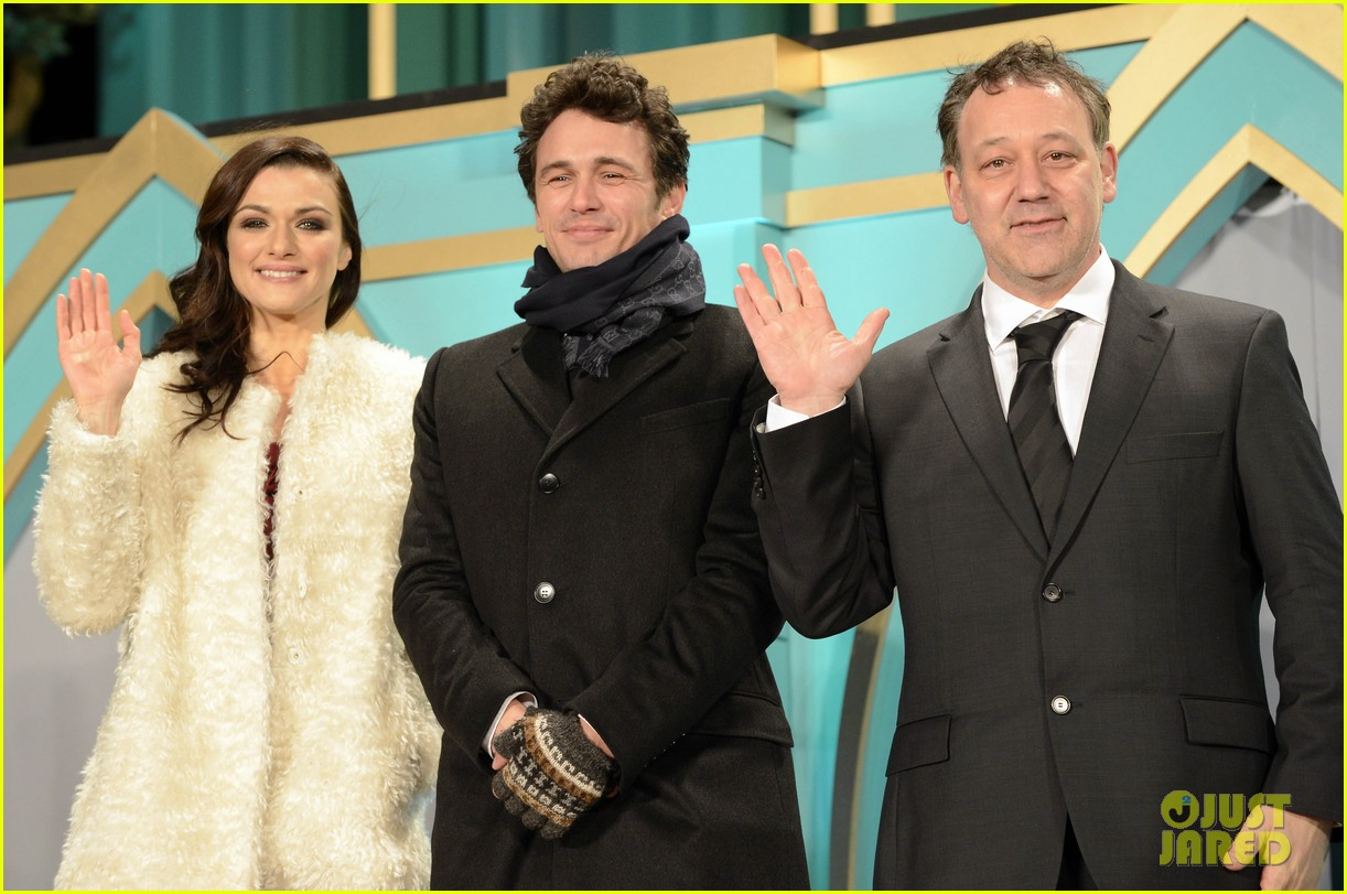 rachel weisz james franco oz japan premiere 15