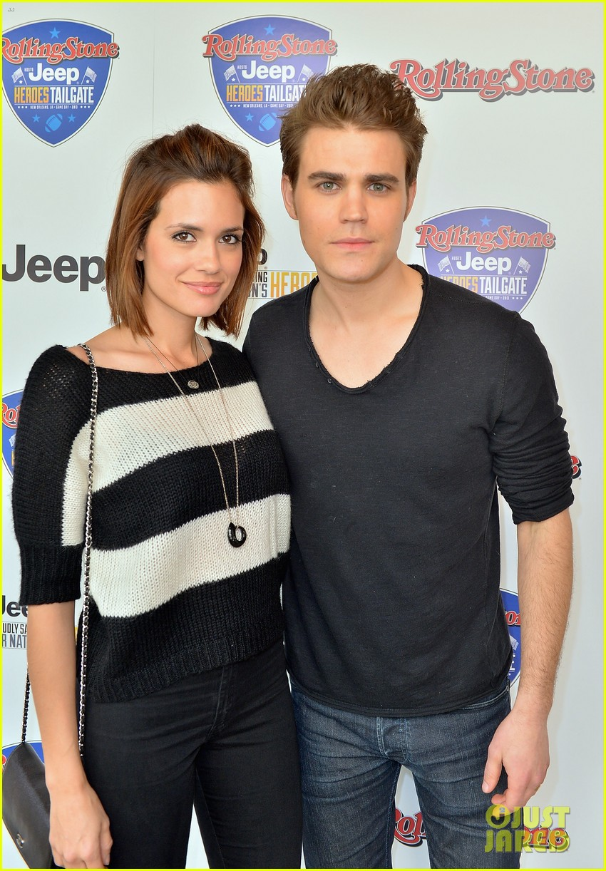 paul wesley torrey devitto super bowl tailgate party 02