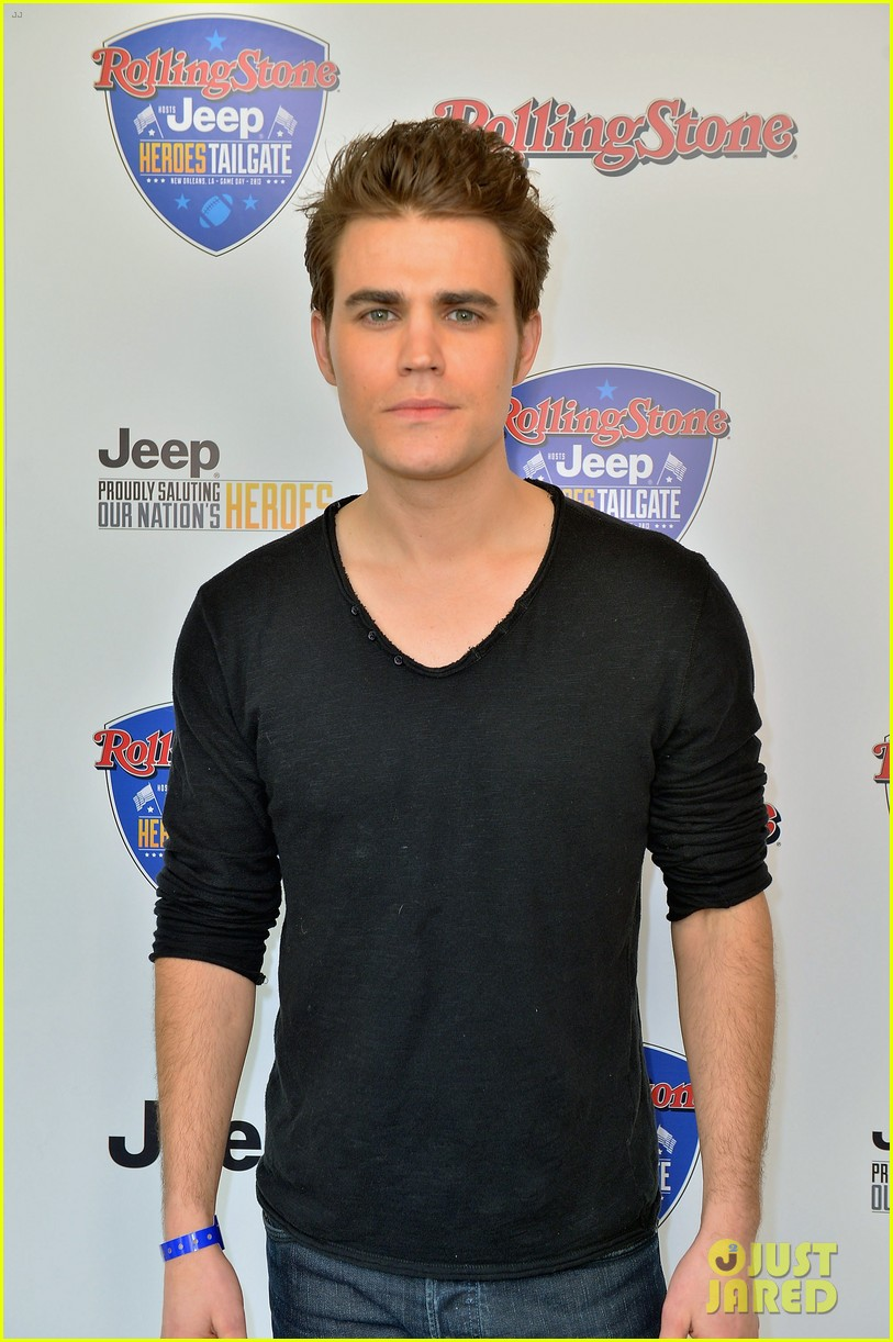 paul wesley torrey devitto super bowl tailgate party 062804491
