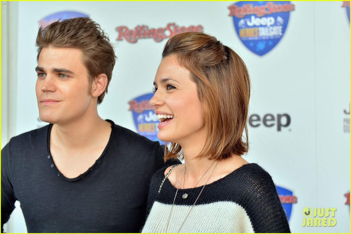 paul wesley torrey devitto super bowl tailgate party 122804497