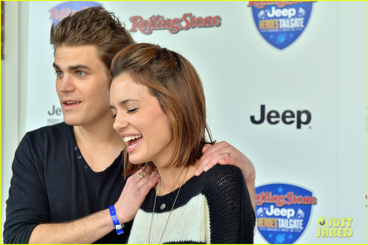 paul wesley torrey devitto super bowl tailgate party 142804499