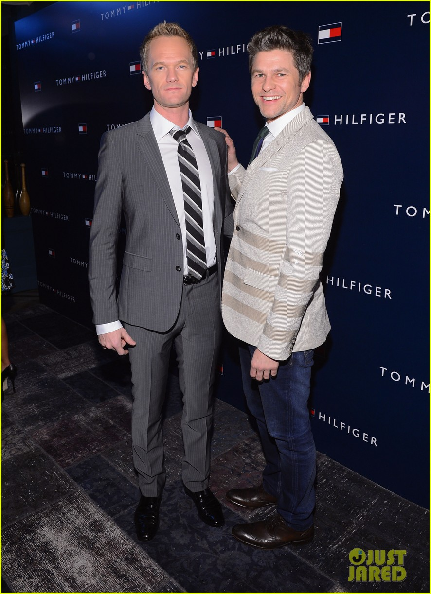 ed westwick neil patrick harris tommy hilfiger store opening 052811976