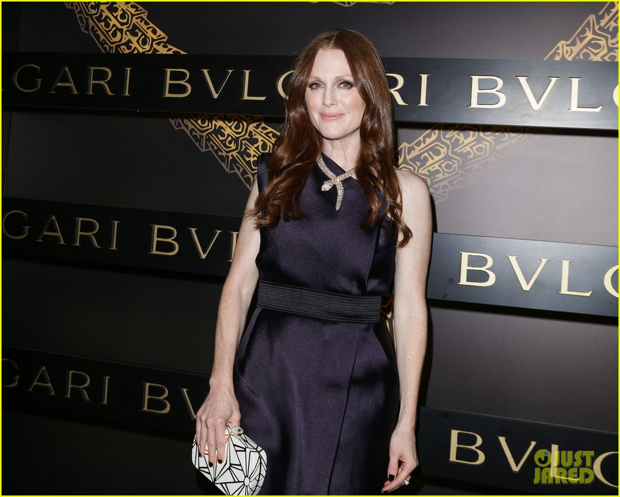 olivia wilde julianne moore bulgari serpenti event 022808472