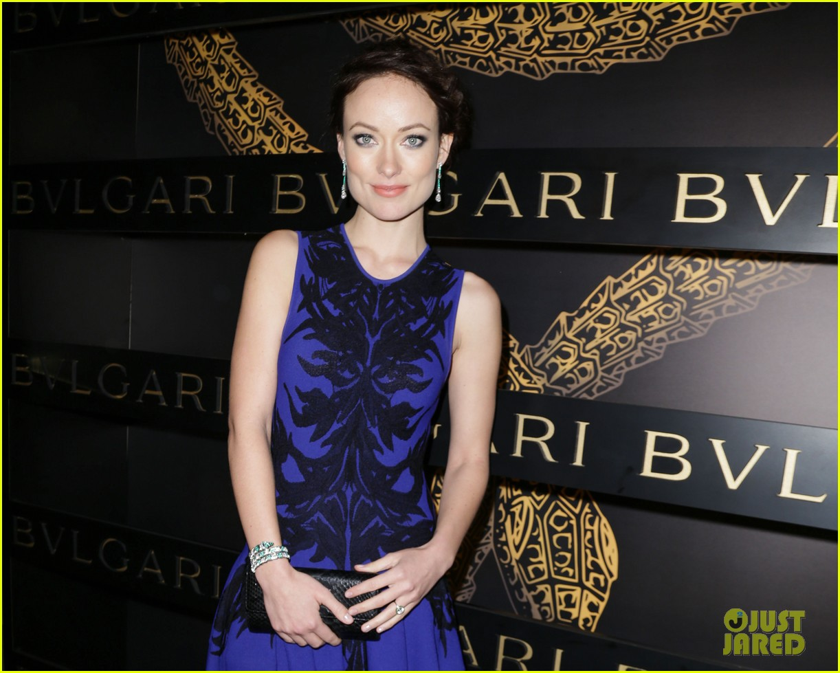 olivia wilde julianne moore bulgari serpenti event 152808485