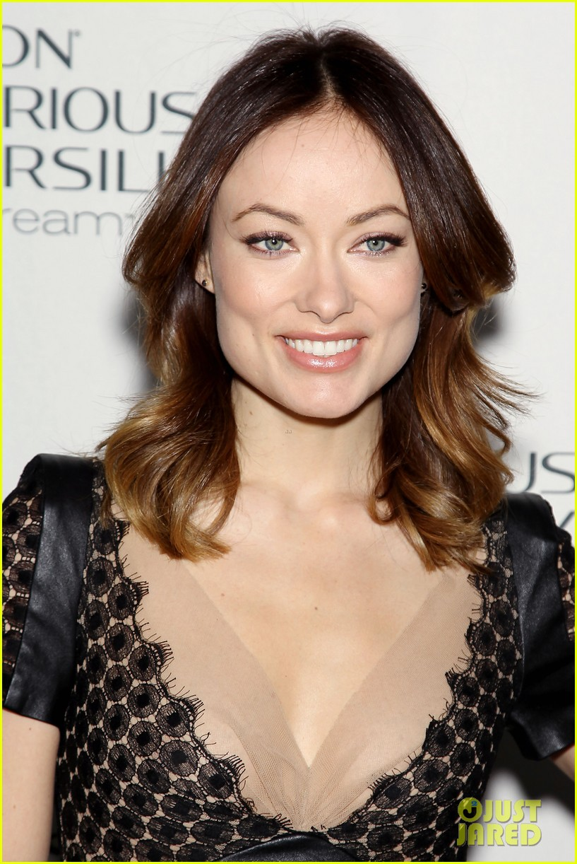 olivia wilde revlon colorsilk buttercreme launch 06
