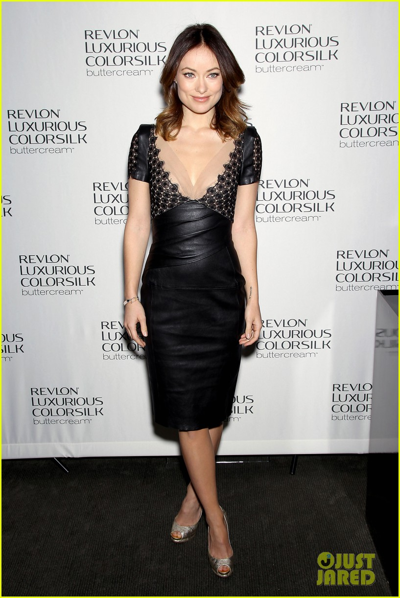 olivia wilde revlon colorsilk buttercreme launch 11