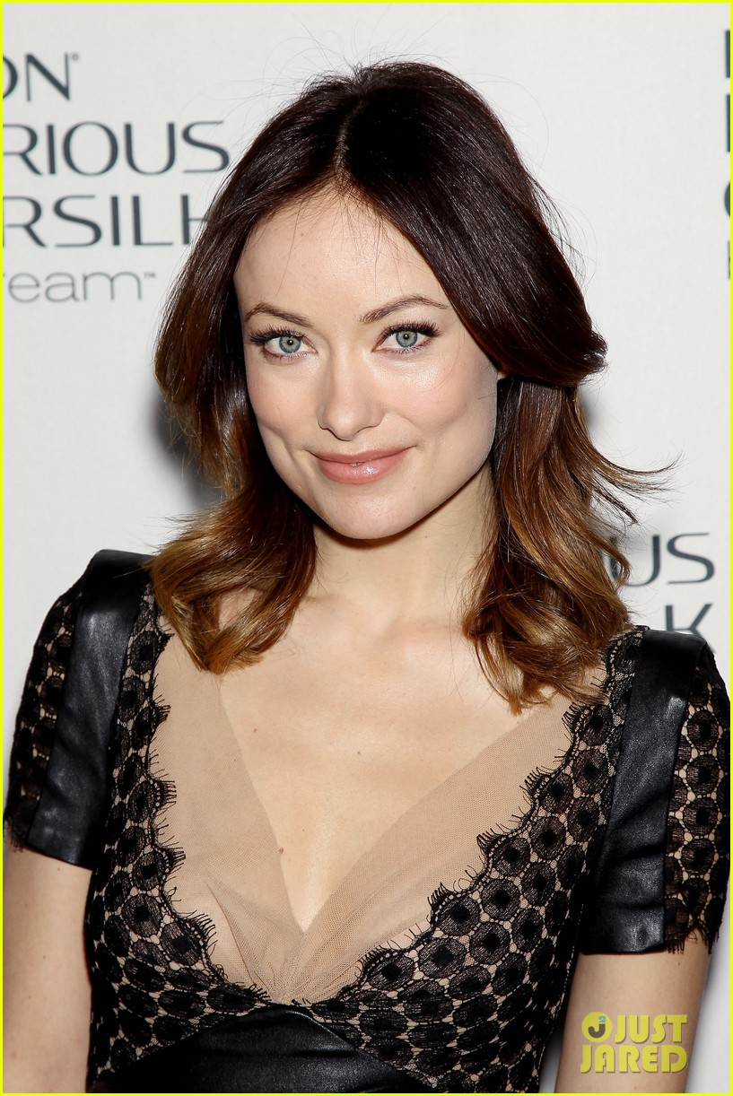 olivia wilde revlon colorsilk buttercreme launch 162806402
