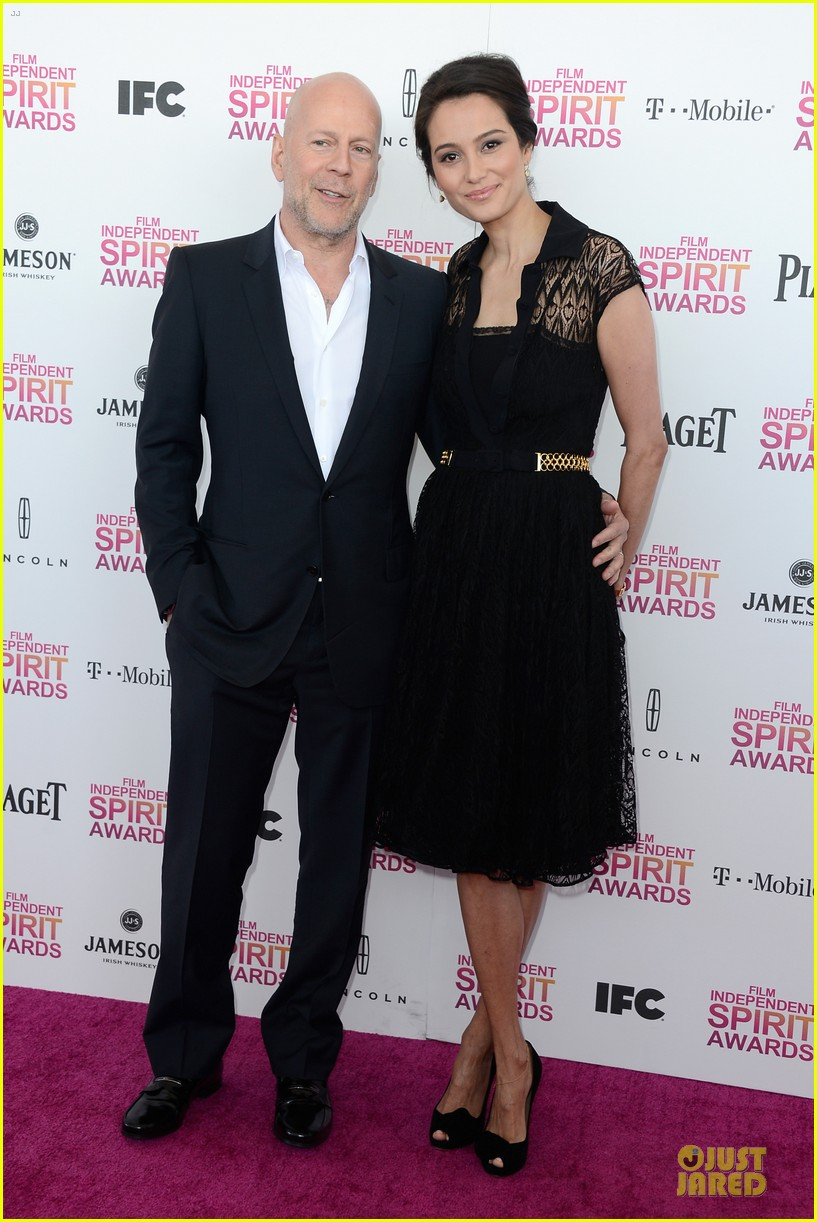 bruce willis emma heming independent spirit awards 2013 05