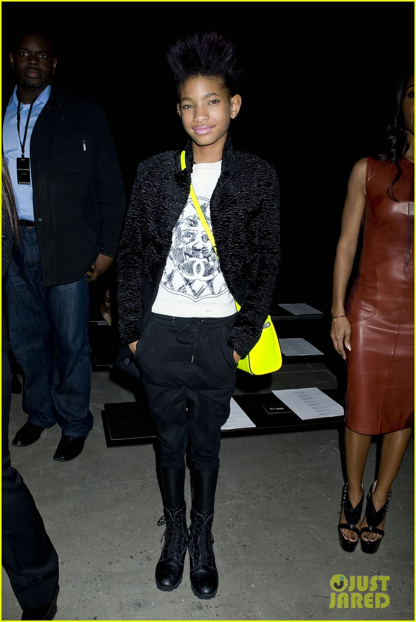 willow jada pinkett smith narciso rodriguez fashion show 052811371