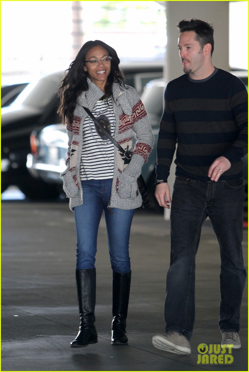 zoe saldana beverly hills beauty 032810616