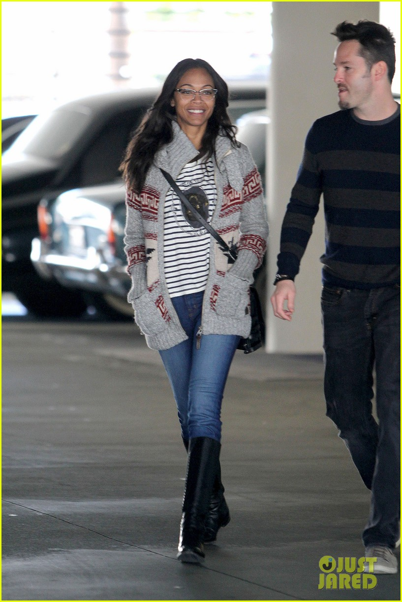 zoe saldana beverly hills beauty 08