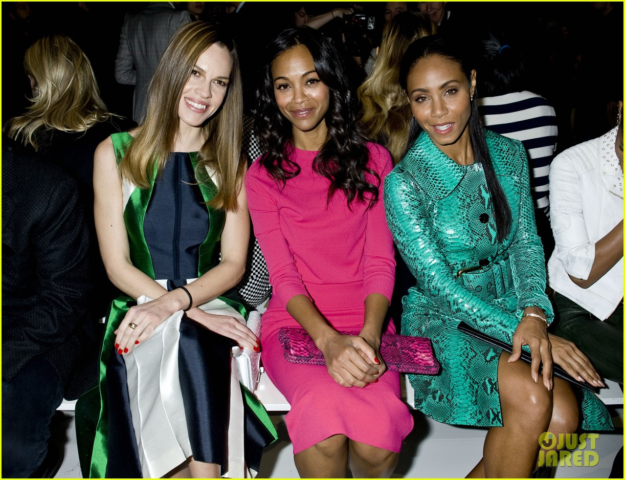 zoe saldana willow jada pinkett smith michael kors show 022811396