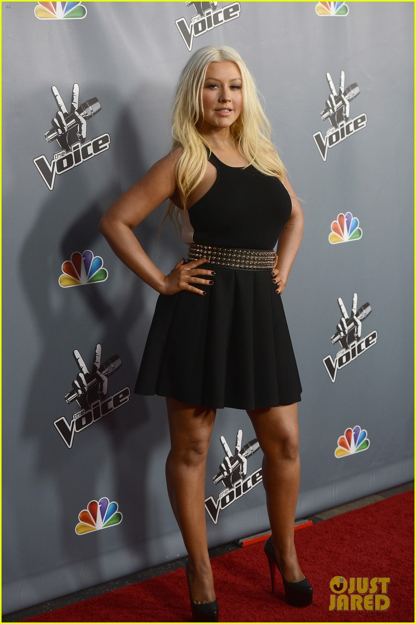 christina aguilera usher the voice season 4 screening 112834890