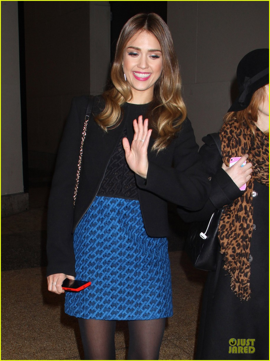 jessica alba honest life book promotion in new york 112829753