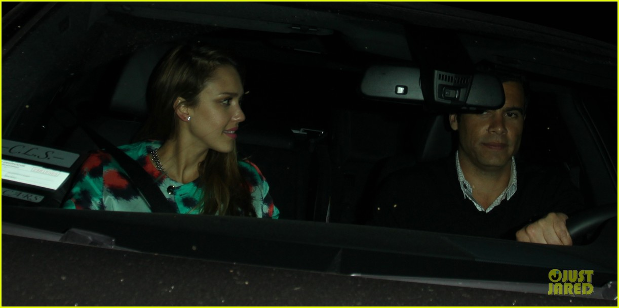 jessica alba cash warren matsuhisa dinner date 042840101