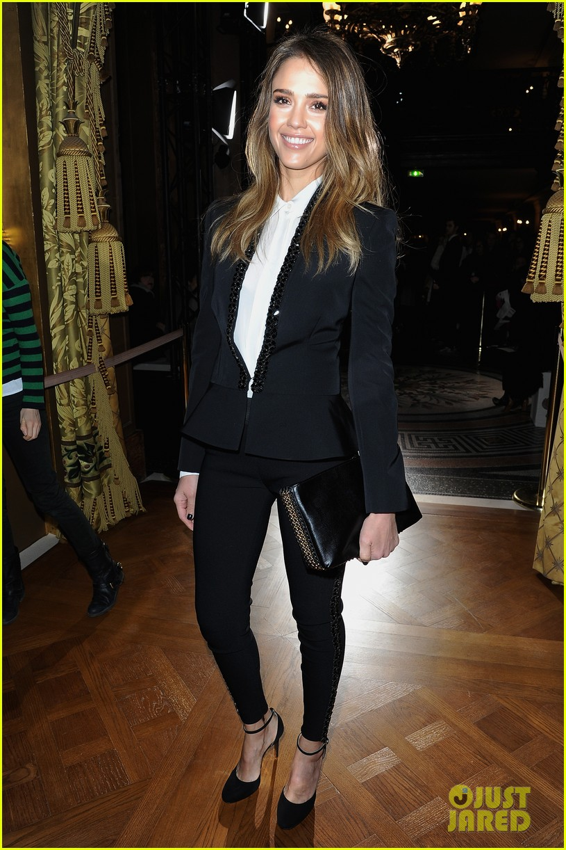 jessica alba nicole richie stella mccartney fashion show 062824752