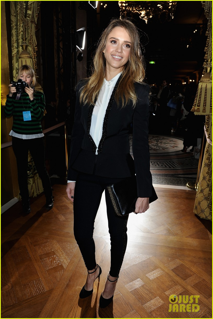 jessica alba nicole richie stella mccartney fashion show 072824753