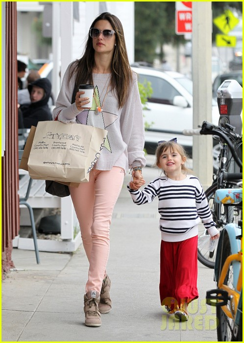 alessandra ambrosio fred segal shopper 122833205