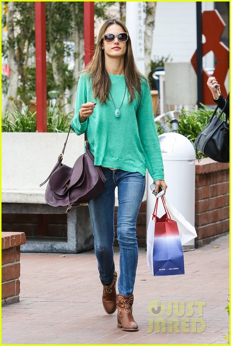 alessandra ambrosio fred segal shopper 362833229
