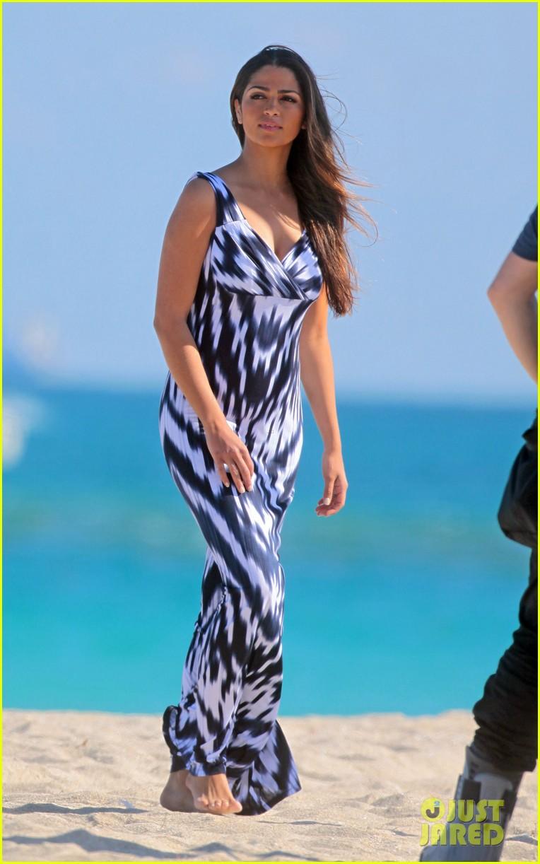 Camila Alves Miami Beach Photo Shoot