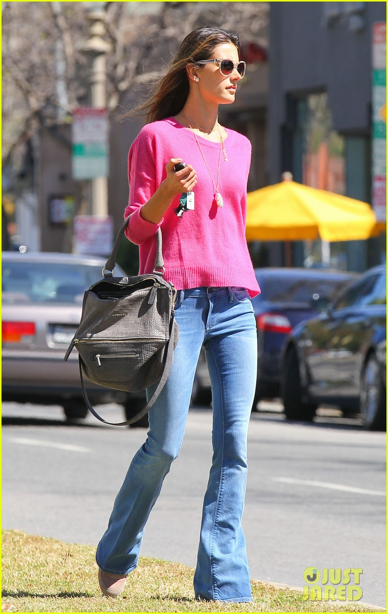 alessandra ambrosio candice swanepoel separate solo outings 012830273