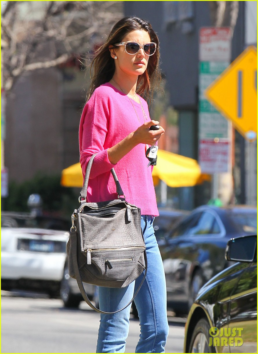 alessandra ambrosio candice swanepoel separate solo outings 032830275