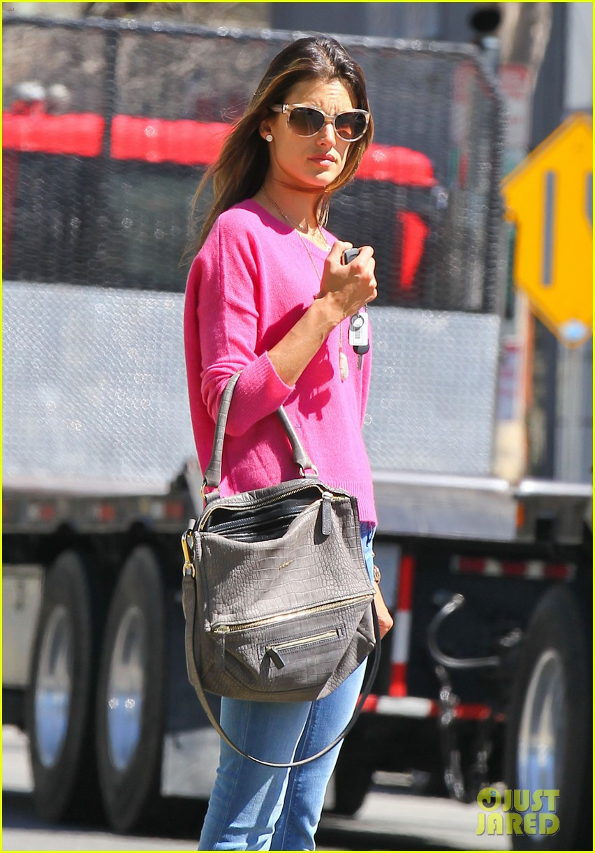 alessandra ambrosio candice swanepoel separate solo outings 102830282