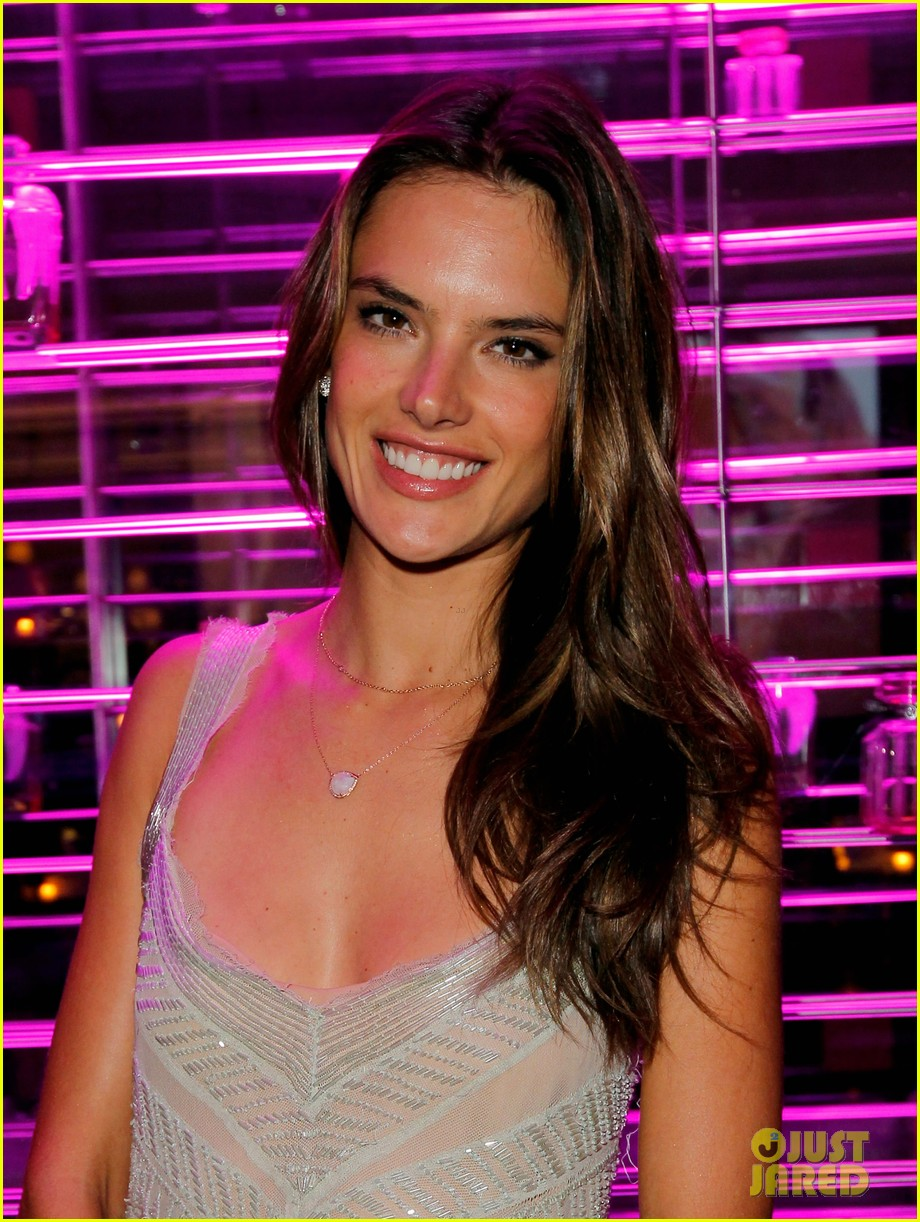 alessandra ambrosio candice swanepoel victorias secret party justjared exclusive video 032830025
