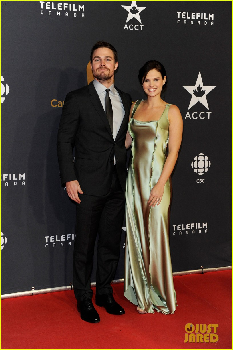 Stephen Amell & Kristin Kreuk: Canadian Screen Awards 2013 ...