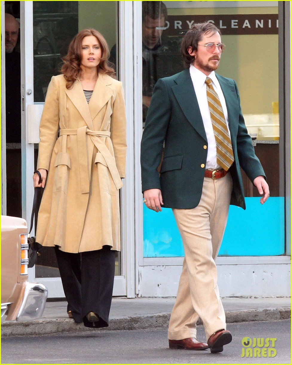 christian bale comb over cut for abscam with amy adams 142835321