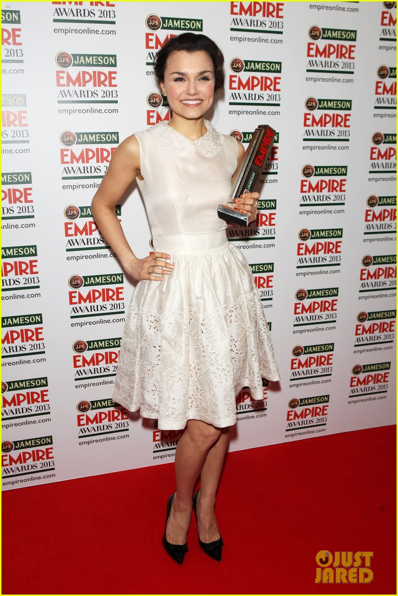 samantha barks tom holland empire awards winners 012837642