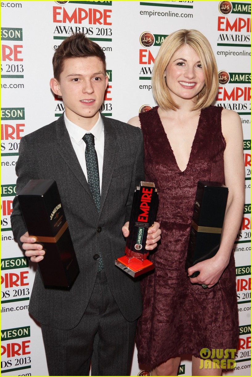 samantha barks tom holland empire awards winners 062837647