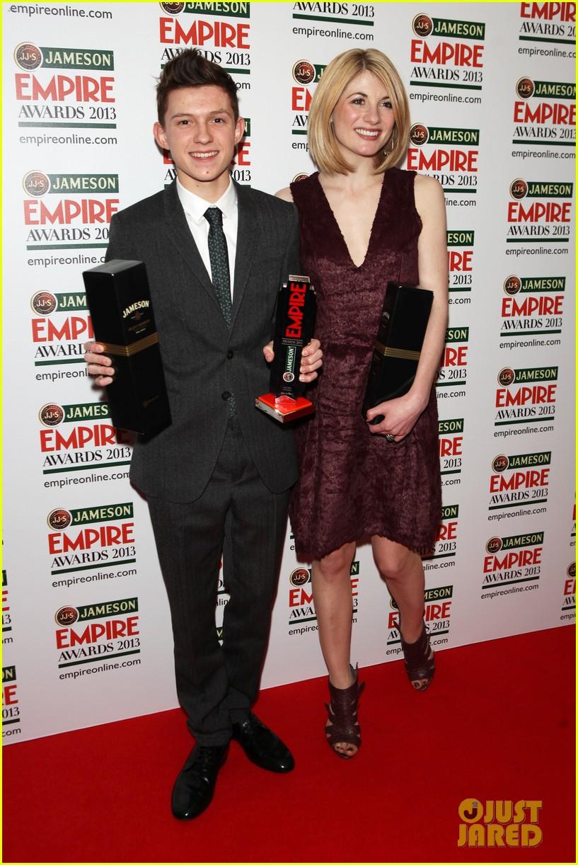 samantha barks tom holland empire awards winners 072837648