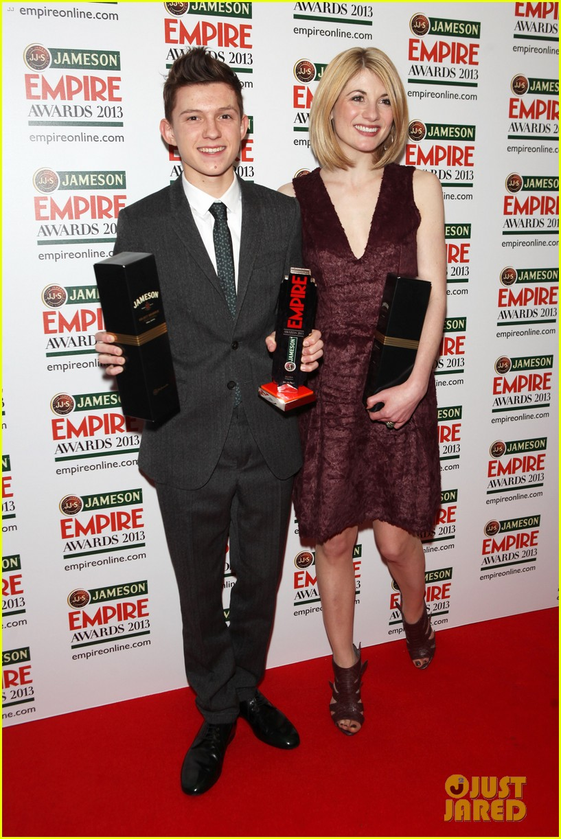 samantha barks tom holland empire awards winners 08