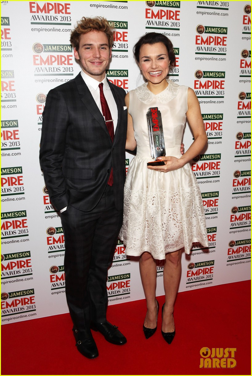 samantha barks tom holland empire awards winners 102837651