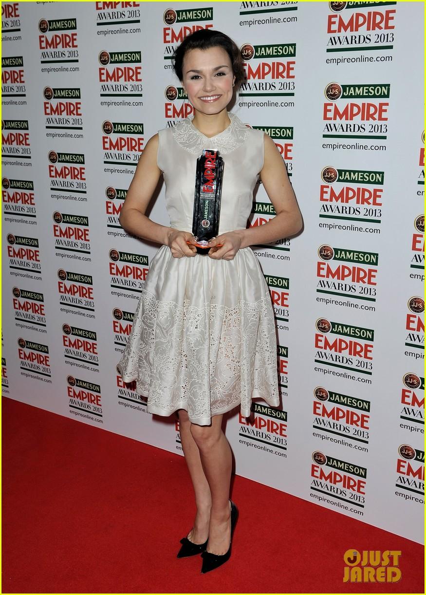 samantha barks tom holland empire awards winners 112837652