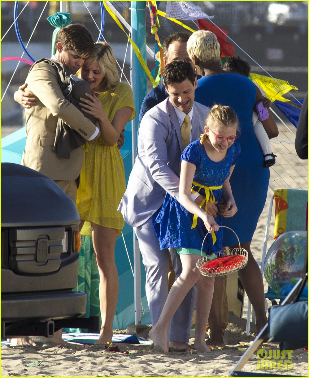 andrew rannells justin bartha new normal beach filming 012829446