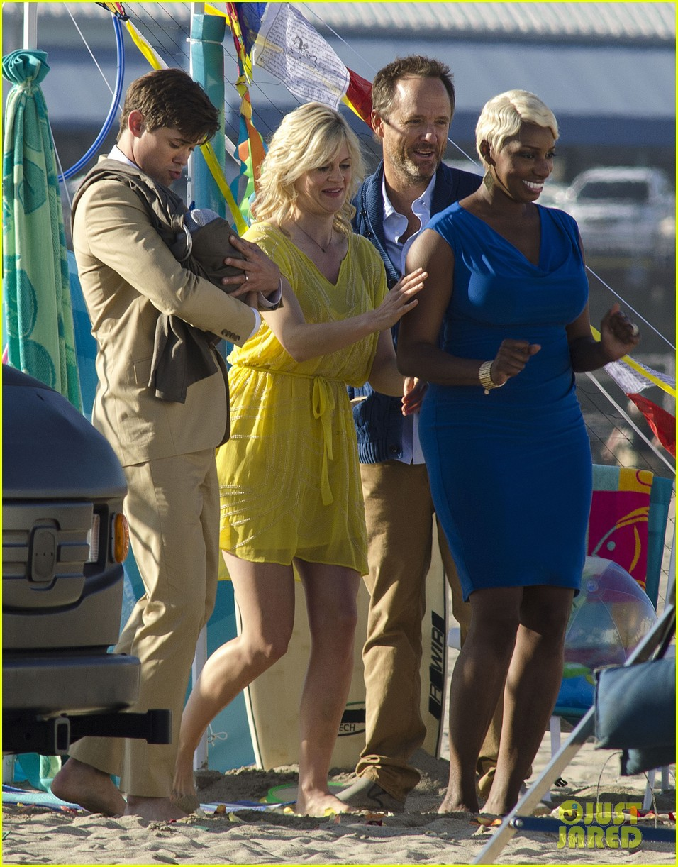 andrew rannells justin bartha new normal beach filming 03