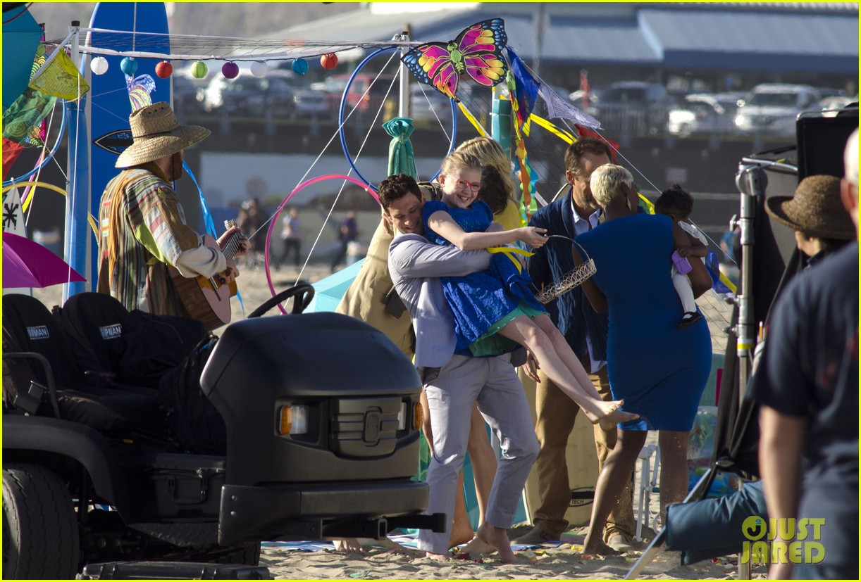 andrew rannells justin bartha new normal beach filming 122829457