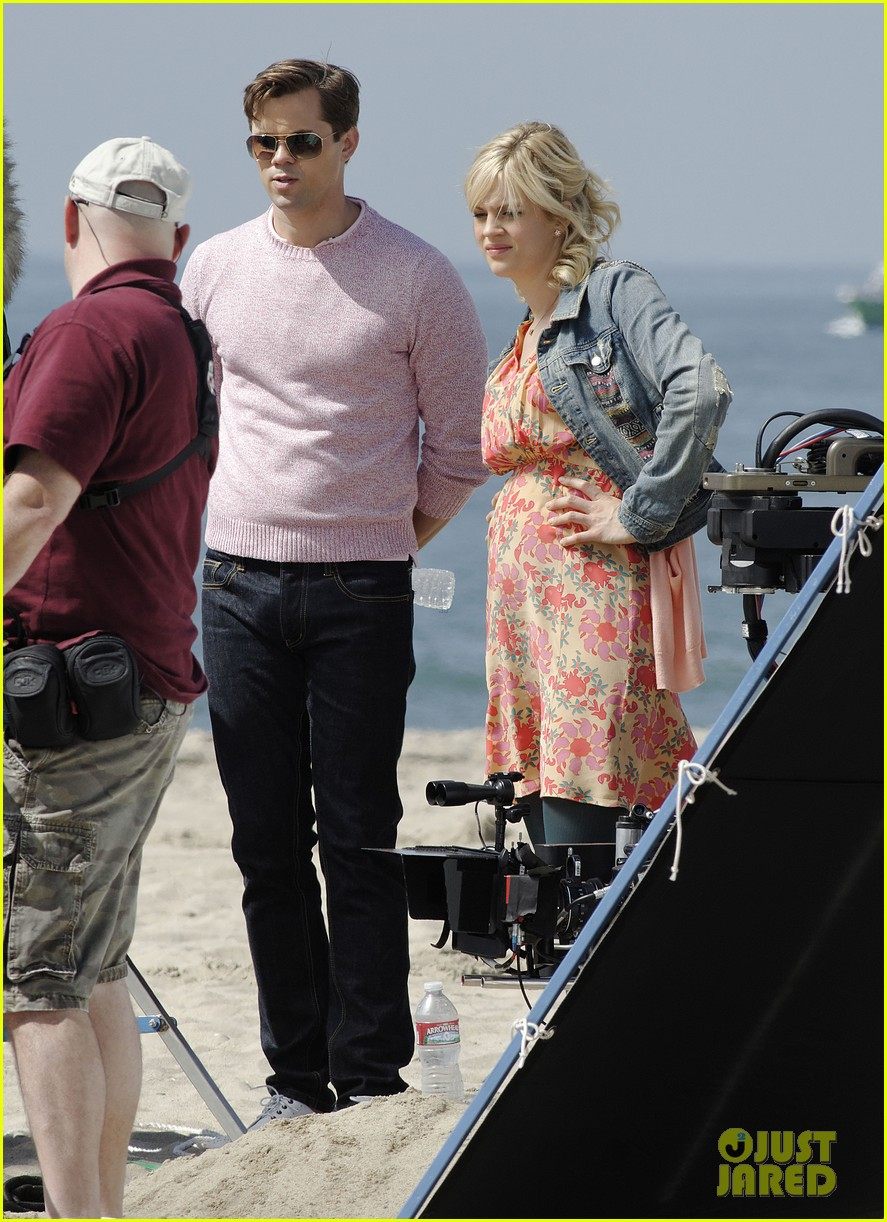 andrew rannells justin bartha new normal beach filming 212829466