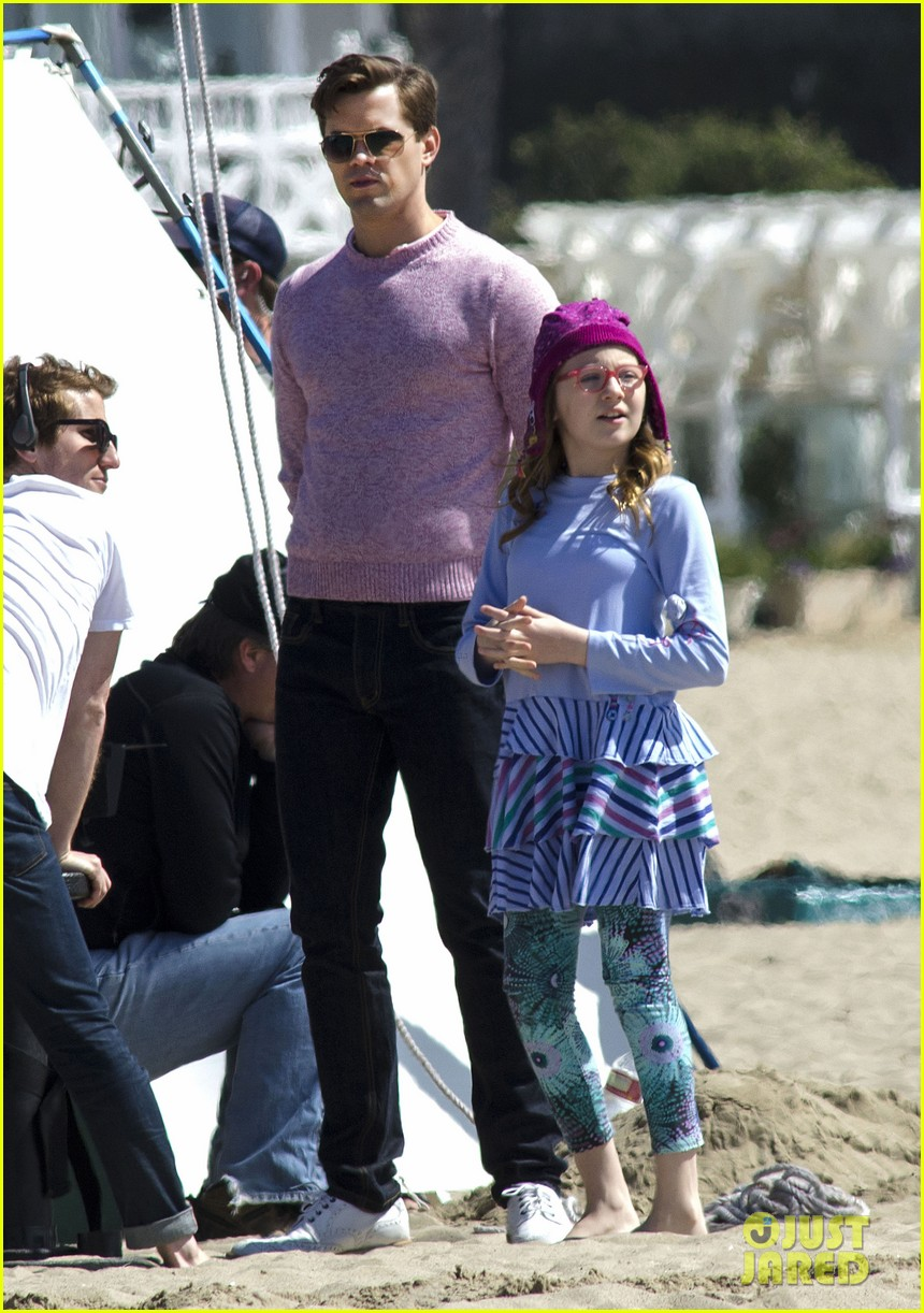 andrew rannells justin bartha new normal beach filming 222829467